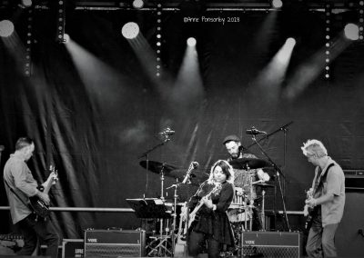 The Sheyana Band at Forth Valley Blues Festival